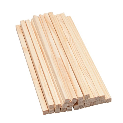 Mendi 100 Wooden Stick Square
