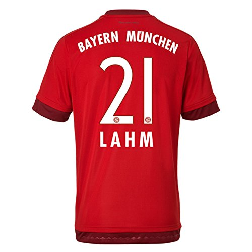 Trikot Adidas FC Bayern München 2015-2016 Home (Lahm 21, XL Boys 32-34