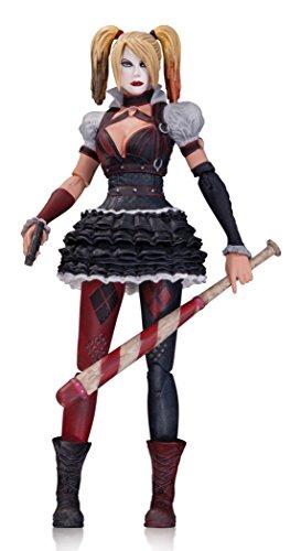 DC Comics Figura Batman Arkham Knight Harley Quinn Acción