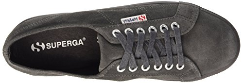 Superga Damen 2790-Suew Sneaker J38 Full Grey Stone