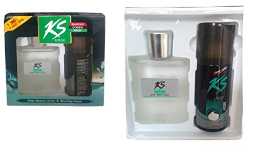 Kamasutra Shaving Combo Offer - Urge After Shave Lotion 100ml and Shaving Foam 100gm