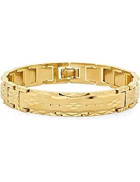 12mm 14k Gold überzogenes Diamant-schneiden starkes Art-Art-Kettenverbindungs-Armband