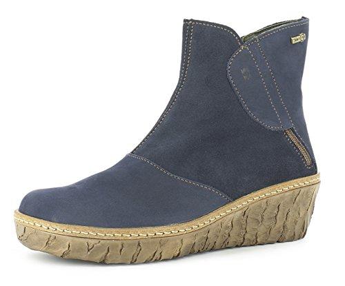 El Naturalista N5132 Myth Yggdrasil Damen Keilstiefeletten,Frauen Stiefel,Boots,Halbstiefel,Wedge-Bootie,hoch,wasserfeste Ontex Tex Membran,Ocean,EU 37