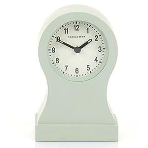 Bantam Grande horloge de cheminée Bleu canard