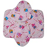 Tinni Cutie Pie New Born Baby Diaper Changing Mat With Heart Shape Nursery Print And Multi Colour Made By Group Of Mothers 0-2 Years - B07FR6FZZT