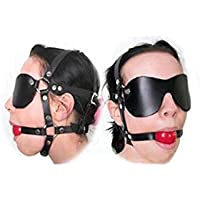 Sex Toys, Sex Toys4 pour Couple Slave Harness Silicone Ball Gag SM Bondage Fetish Mouth SM Sex Toy