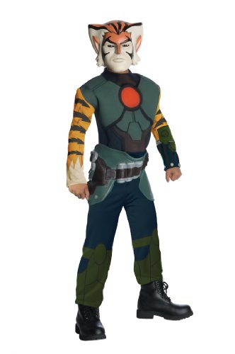 Thundercats Kostüm - Thundercats Tygra Muskel Brust Kostüm