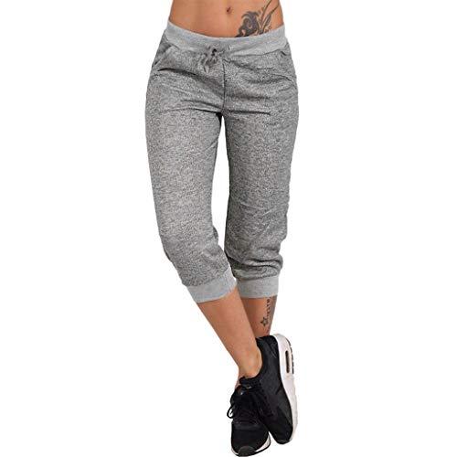 RISTHY 3/4 Pantalones Deporte Yoga Mujer Leggins Leotardos