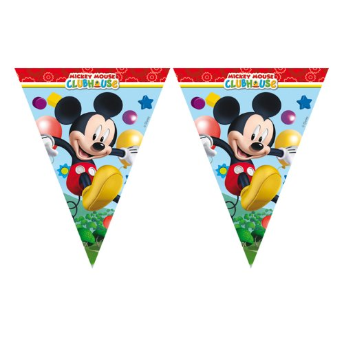 PARTY DISCOUNT NEU Wimpelkette Playful Mickey