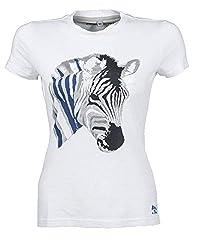 HKM SPORTS EQUIPMENT Bibi & Tina T-Shirt -Bibi&Tina Zebra-, weiß, 146/152