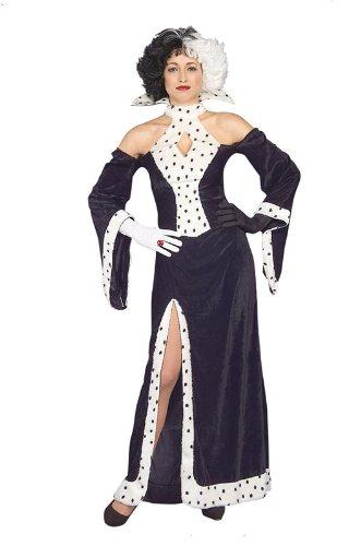 Erwachsene Damen Cruella Hund Lovin Diva (Kostüme Cruella Erwachsene)