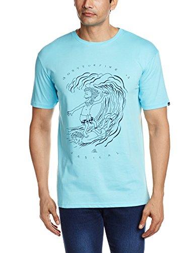 Quiksilver Clasteradicalsu T-Shirt für Herren Bluefish