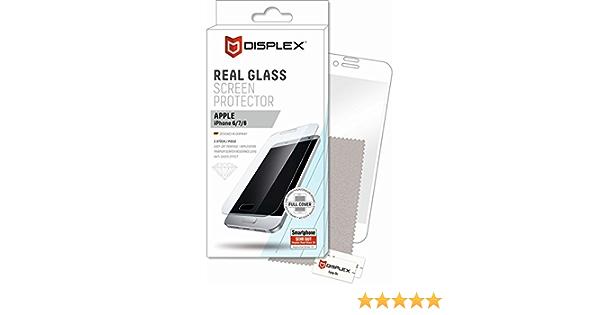 Displex Real Glass 3d Apple Iphone 6 7 8 Elektronik