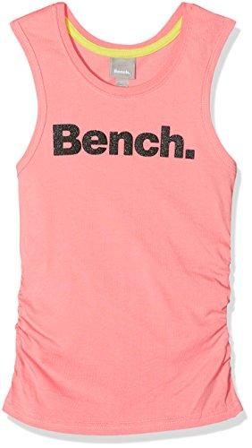 Bench Mädchen Top Script Vest Rosa (Strawberry Pink Pk11480) 164 (Herstellergröße: 13-14)