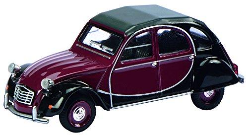 schuco-452012100-modellino-auto-1983-citroen-2cv-charleston-nero-bourdeaux-scala-164