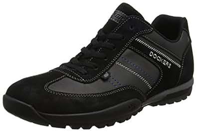 Dockers by Gerli 36ht004-204100, Sneakers Basses Homme, Noir (Schwarz 100), 40 EU