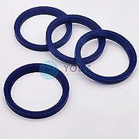 4 x anelli di centraggio esterno 70,4 mm-interno 65,1 mm Spigot rings