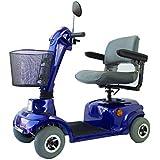 Mobiclinic Scooter eléctrico   con 4 Ruedas   con Asiento   para minusválidos   Auton.