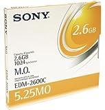 Sony 5 25â, y#x20AC; Magneto-disco óptico de 2;636mb: EDM2600 (EDM2600)