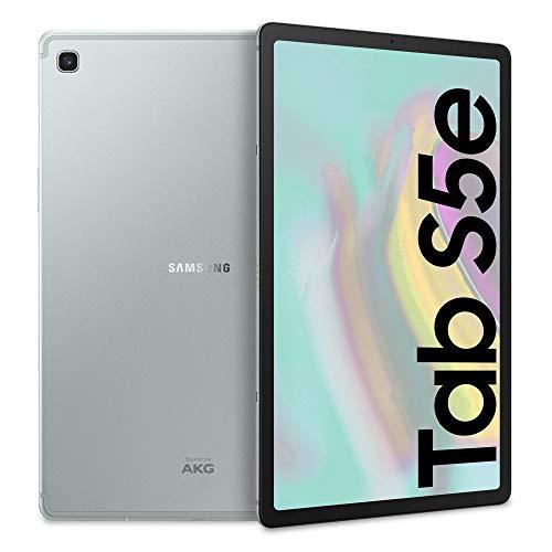 samsung galaxy tab s5e (2019) tablet, 10.5 superamoled, 64 gb espandibili, batteria 7040 mah, ricarica rapida, wi-fi, argento, [versione italiana]