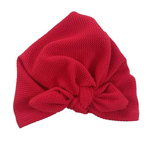 Neborn Neue Entworfene Nette Baby Hut Baumwolle Weiche Turban Knoten Mädchen Sommer Hut Böhmischen Stil Kinder Neugeborene Kappe für Baby mädchen (E) (Herren Turban Hut)