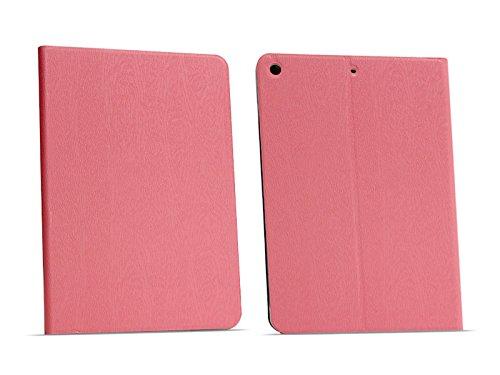etuo Apple iPad (2018) - Hülle Flex Book - Rosa - Tablethülle Schutzhülle Etui Case Cover Tasche für Tablet