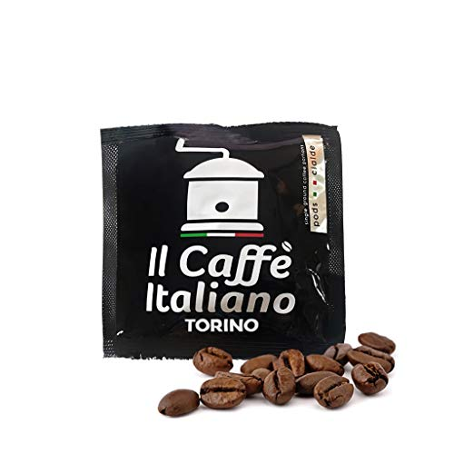100 Pads ESE 44 mm - 100 Kaffeepads ESE 44 mm Mischung Torino - Il Caffè Italiano