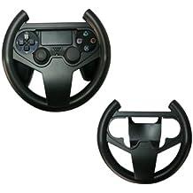 GAMINGER Volante para control Dualshock de PlayStation 4 PS4 Sony - Juegos de movimiento de control - Perfecto para JUEGOS DE CARRERAS