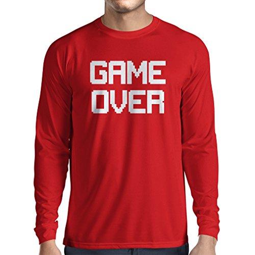 Kostüme Wars Yourself It Star Do (T-Shirt mit langen Ärmeln Spiel über lustige Gamergeschenke (Medium Rot)