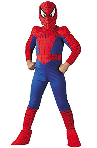 Spider-Man Deluxe Child Costume: Size 10-12 Husky
