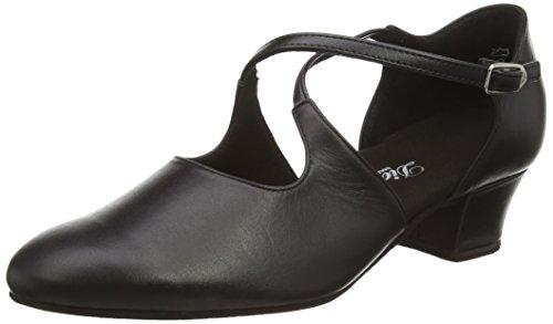 NegroschwarzTalla Standardamp; Para Diamant 052 MujerColor Tanzschuhe 034 Zapatos De Latino 102 37 13 Baile Damen yNw8m0Ovn