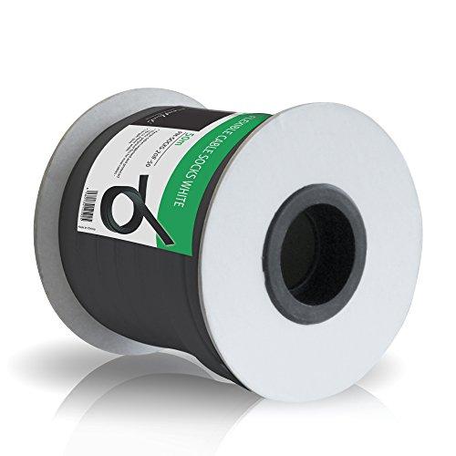 PureMounts PM-SOCKS-20B-50 Universeller Polyester-Kabelschlauch, selbst zusammenziehend  mit Klettverschluss, Ø 20mm, Rolle 50m, schwarz - Panasonic Lcd-plasma-tv