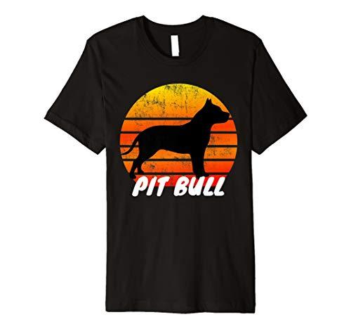 Pitbull Hund Hundefreunde Haustier Tshirt