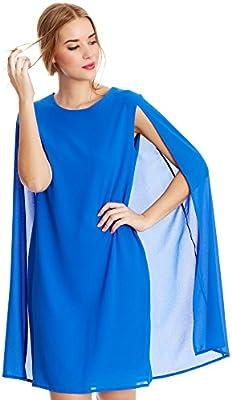 Almatrichi Vestido Leslie Azul ES 36