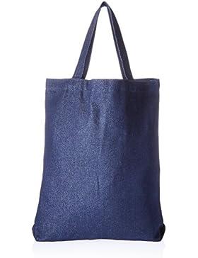 Mark Richards-Borsa in tessuto, dimensione media, 13,5 x 13,5 x 2 cm, colore: indaco jeans