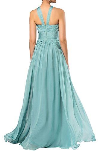 Gorgeous Bride Fashion Rabatte Empire Chiffon Lang Abendkleider Festkleider Ballkleider Lila