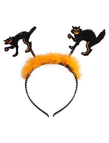 Deiters Haarreif Katzen mit Marabu -