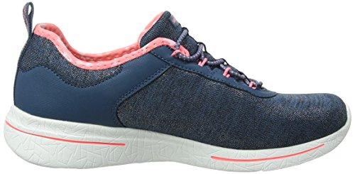 Burst Skechers pink 0 Sunny 2 Blu Allenatori Navy Side Donna aw7wS