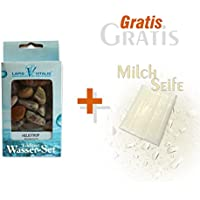 Preisvergleich für Lapis Vitalis Wassersteine Heliotrop und Gratis Milchseife 25 g