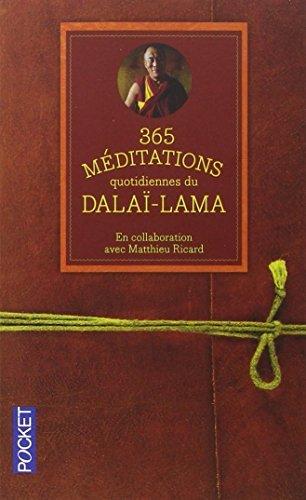 365 m??ditations quotidiennes pour ??clairer votre vie by Dala???-Lama (2013-10-03)