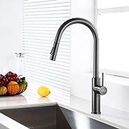 Auralum Küche Wasserhahn Ausziehbar Küchenarmatur mit Brause
