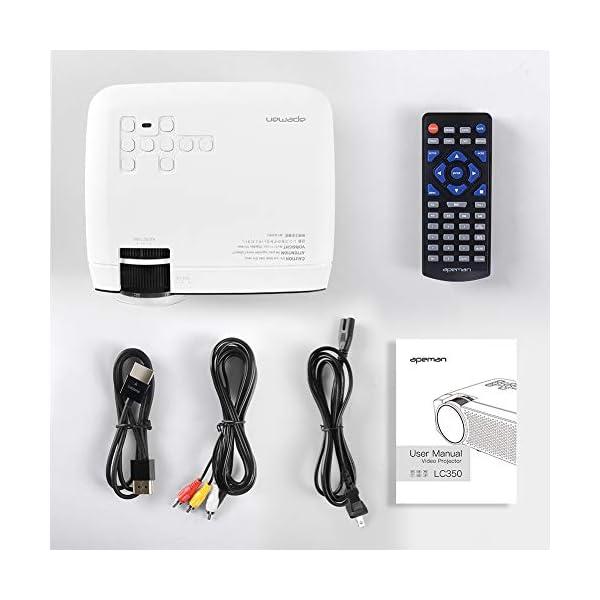 APEMAN-Projecteur-Mini-Vidoprojecteur-3500-Lumen-Rtroprojecteur-Multimdia-LED-Full-HD-1080P-45000-Heures-Cinma--Domicile-Divertissement-HDMIVGAAVTFUSB-Compatible-avec-TV-Box-Chromecast