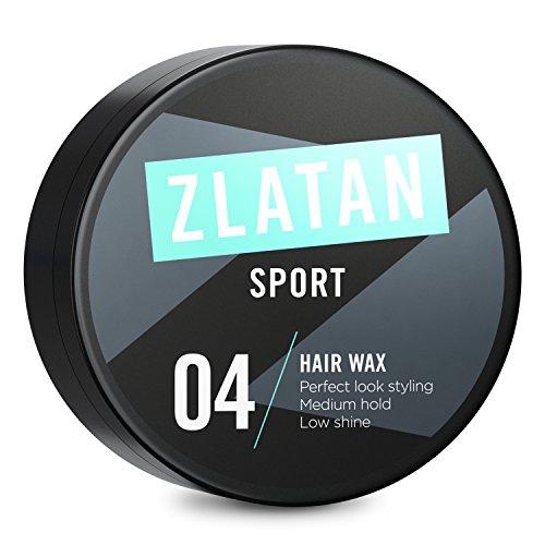 Zlatan SPORT Haarwachs LEHM für Männer Vegan, gestalten, stylen und kontrollieren Sie Ihren Look – perfekte Haar-Pomade für Herren von Zlatan Ibrahimović Parfums 90ml