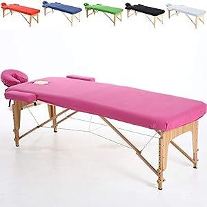 Beltom Baumwollüberzug für Massageliege 195 x 70 cm.