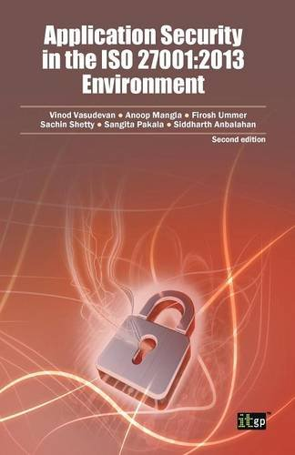Application Security in the ISO 27001: 2013 Environment PDF