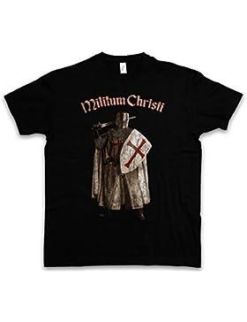 Urban Backwoods Templar III T-Shirt – Cavalieri Templari Cross Knight Ordo Orden Crusade Crusader Taglie S – 5XL
