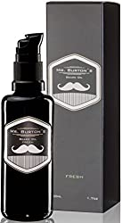 Mr. Burton´s Beard Oil - Bartöl FRESH - 50 ml Bart Öl für die Bartpflege - 100% natürliche Inhaltsstoffe - Premium Qualität - Made in Germany