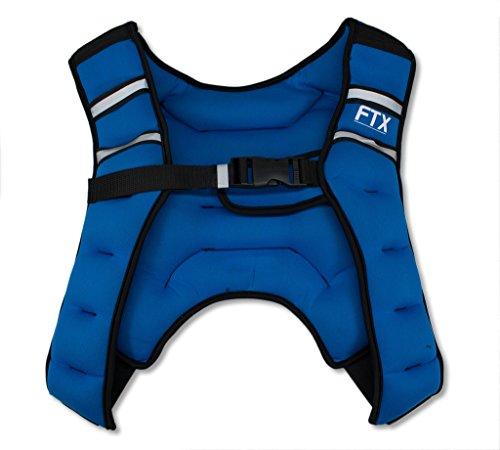 Chaleco con peso para X - Style FTX azul - Chaleco para entrenamiento