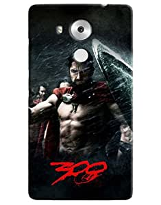 Omnam Spartans Of Movie 300 Printed Designer Back Cover Case For Huawei Honor Mate 8