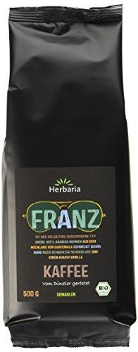 Herbaria Franz Kaffee gemahlen BIO, 5er Pack (5 x 500 g)
